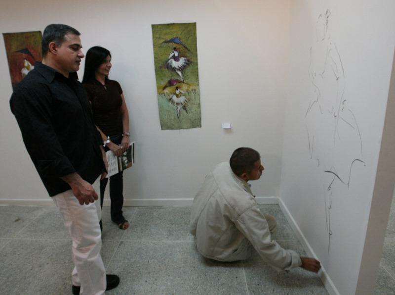 """Gobernador Tarek inauguró exposición """"Bailarinas del Cielo"""""""