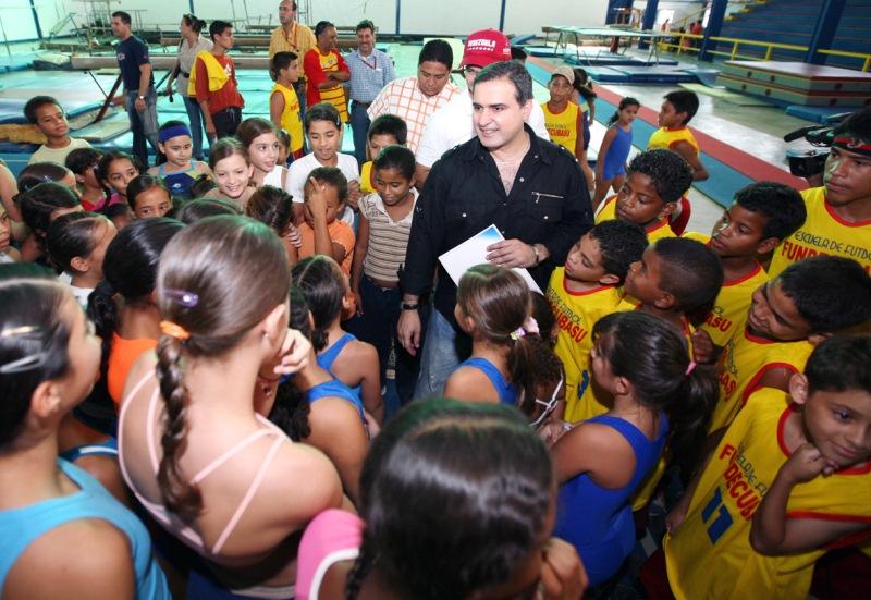 Gobernación invirtió Bs.F. 159 millones en desarrollo deportivo entre 2005 y 2010