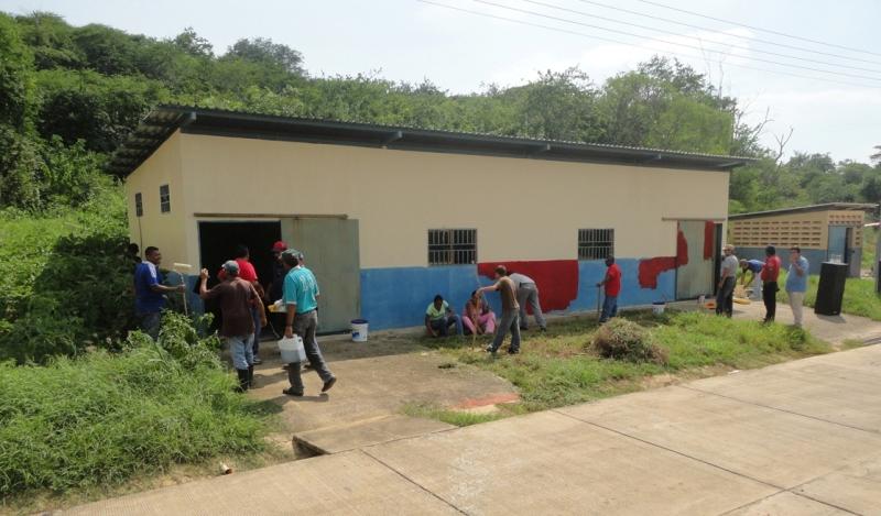 Gobernación de Anzoátegui realizó jornada de limpieza en el NUDE Matadero Industrial  San Miguel