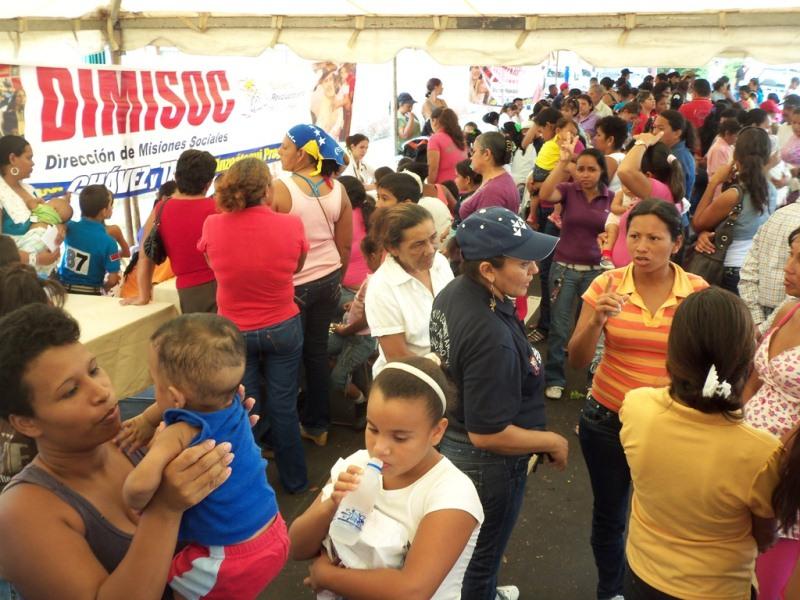 Tarek desplegó con éxito Jornada Social en El Pao