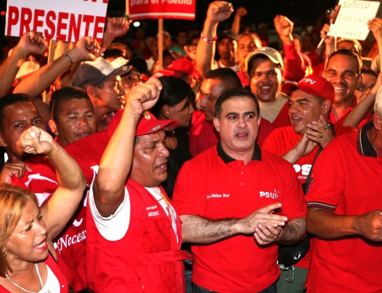 """Tarek: """"Emotivo discurso del Presidente Chávez. Viviremos y venceremos hasta ver logrado el sueño de construir una Patria Libre y Socialista"""""""