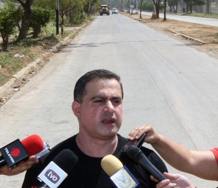 Gobernación adelanta en 90% rehabilitación de vía Los Potocos y Cerro de Piedra