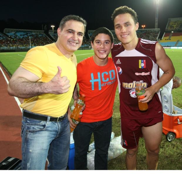 Tarek acompañó a la Vinotinto en entrenamiento previo al amistoso contra España
