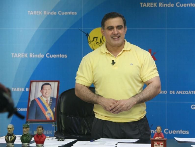 Tarek entregó donativos por 66 mil bolívares fuertes