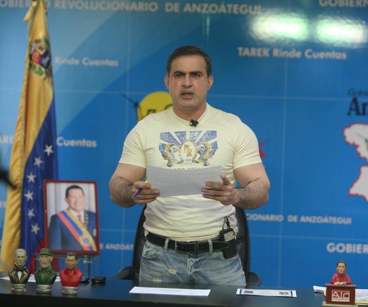 """Tarek: """"Aumentos salariales decretados por Chávez consolidan justicia laboral de la revolución"""""""