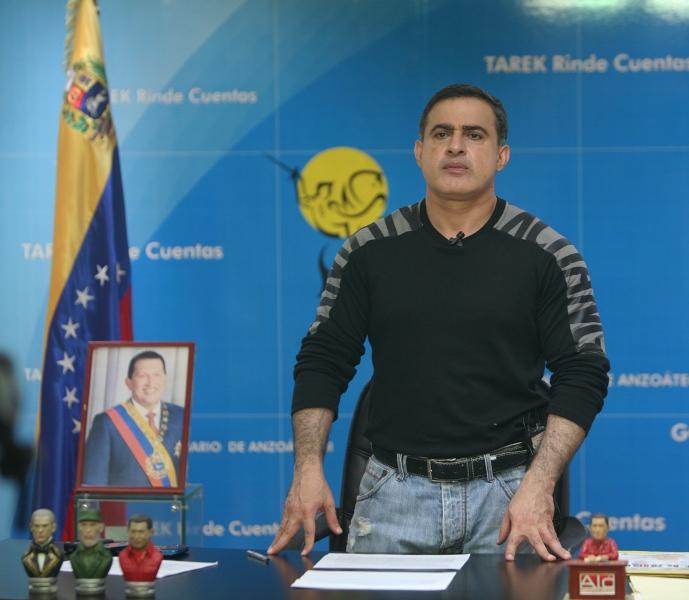 Tarek elogió al pueblo de Anzoátegui por jornada histórica e inolvidable en amistoso Venezuela y España
