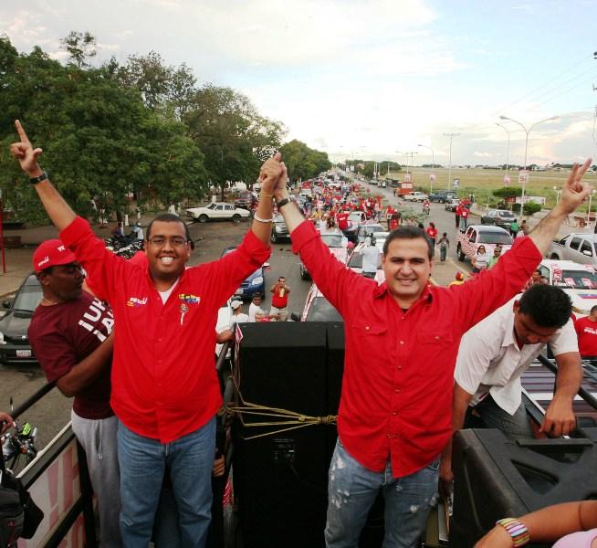 PSUV realizó imponente caravana en Anaco