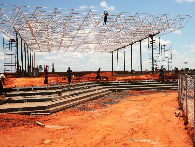 Avanza construcción del Centro Cultural Miguel Otero Silva en El Tigre