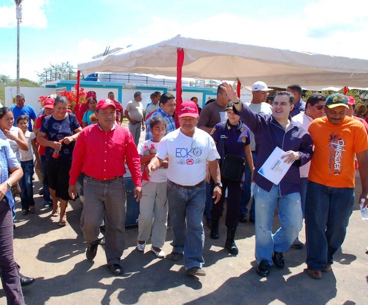 Ejecutivo culmina planta de tratamiento en Valle Guanape