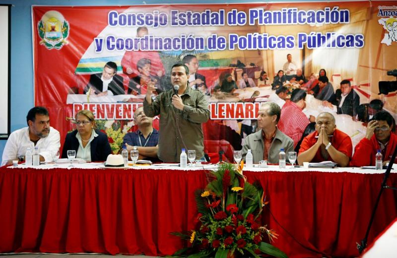 Consejo Estadal de Planificación del año 2009