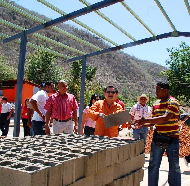 Remodelación de escuela de Araguita