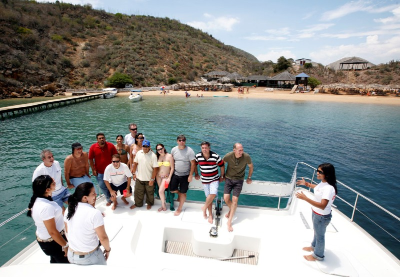 Operadoras de Argentina persiguen promover atractivos turísticos de Anzoátegui