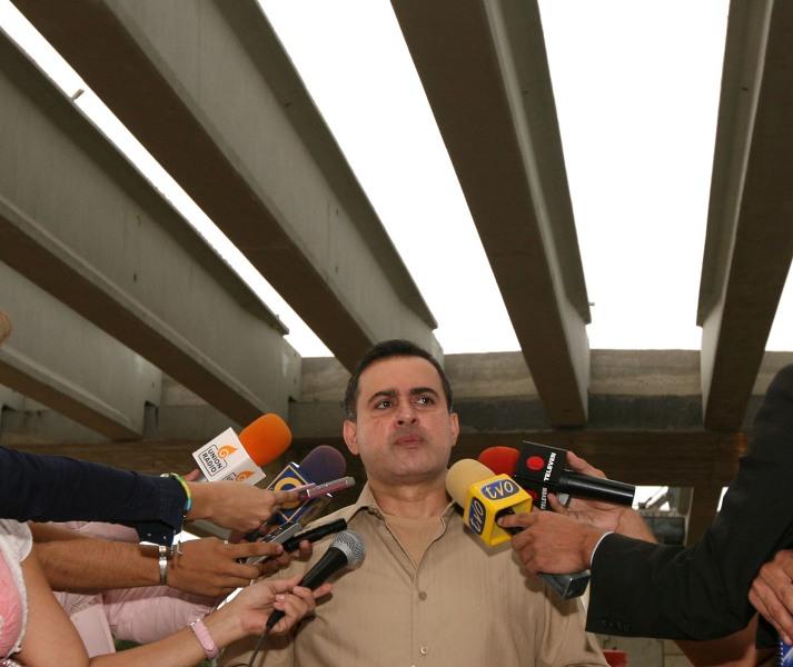 Tarek constató 80% de avance en construcción del Distribuidor La Victoria