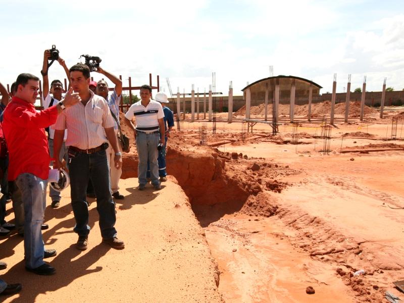 Gobernación construye II Etapa de Distrito Policial en El Viñedo