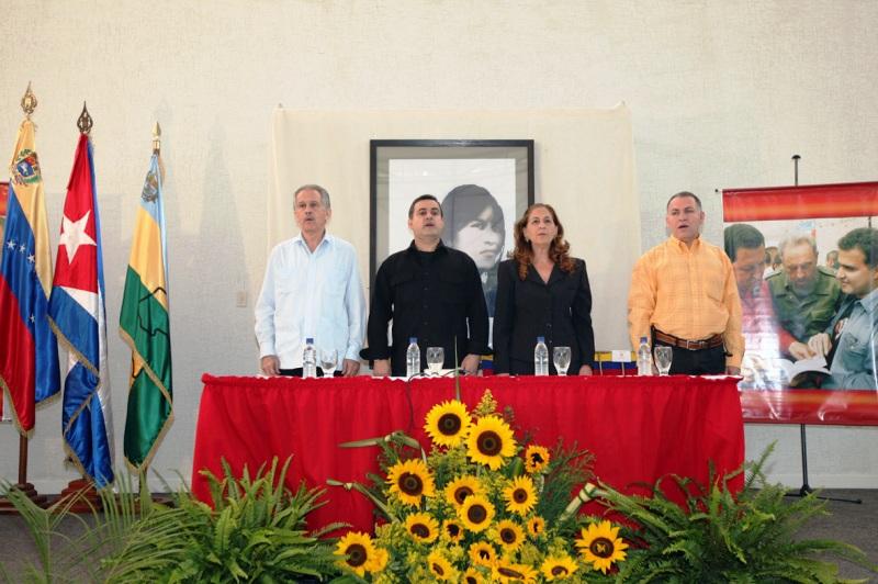 Tarek rindió homenaje a Germán Sánchez Otero ex embajador de Cuba en Venezuela