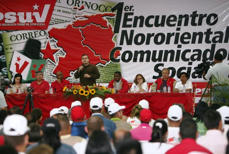Gobernador Tarek instaló I Encuentro Nororiental de Comunicadores Socialistas