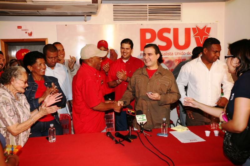 Vicepresidente del psuv oriente realiz primera reuni n de for Buro reunion