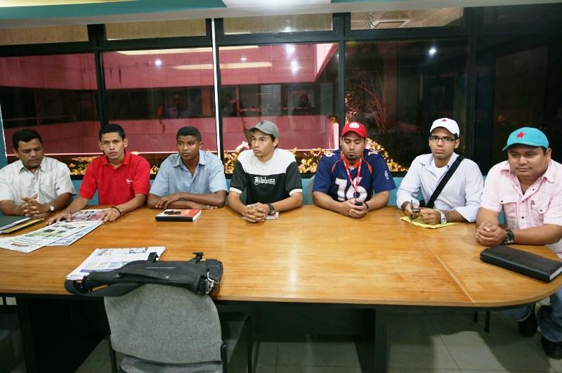 Representantes de la Juventud del PSUV rechazan violencia