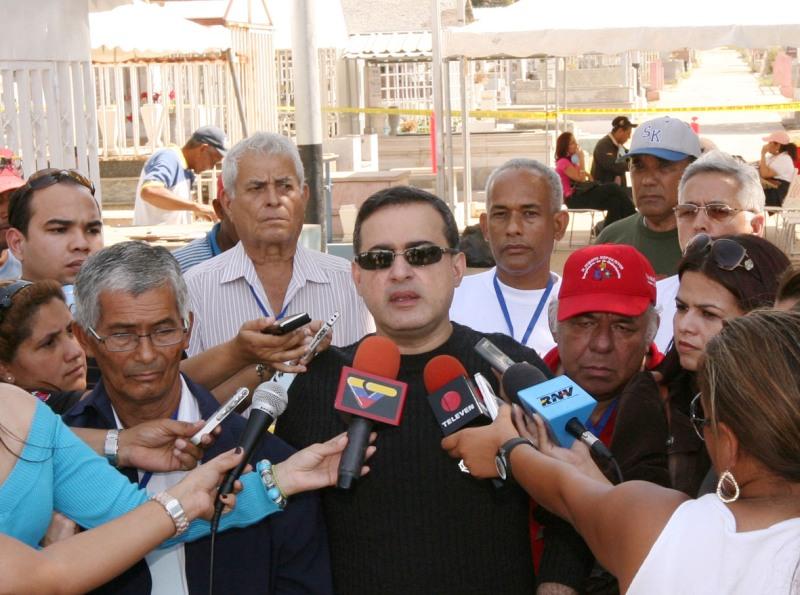 Tarek acompañó a familiares de Sor Fany Alfonso durante exhumación de su cadáver