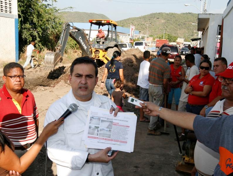 Gobernación ejecuta obras de urbanismo en sector Barrio Colombia de Barcelona
