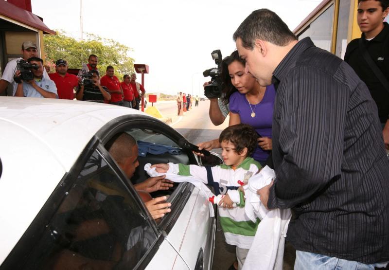 Tarek dio la bienvenida a los temporadistas a Anzoátegui