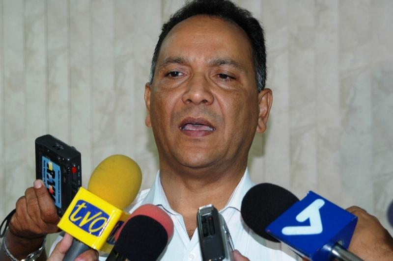 El ex presidente del Consejo Legislativo Estadal y dirigente del Psuv, Pedro Contreras