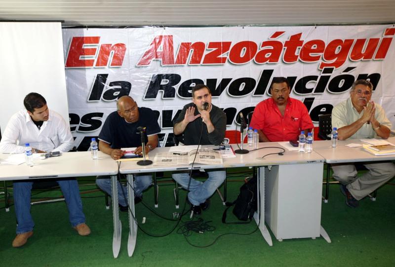 PSUV Anzoátegui se moviliza por la paz y la defensa de la revolución bolivariana