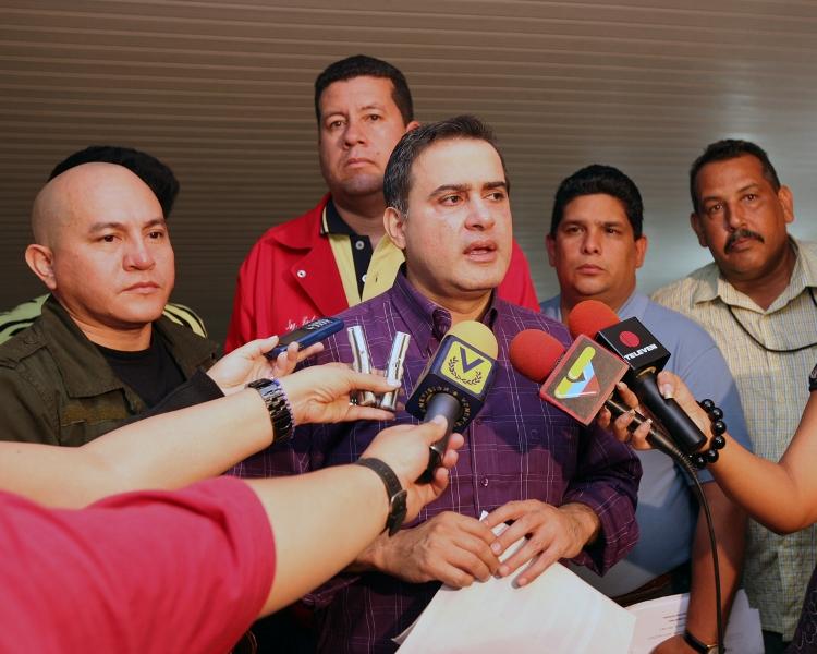 Reunión del Buró Político PSUV
