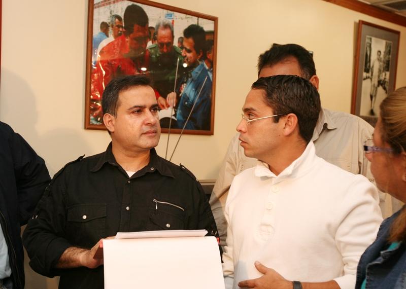 Reunion con alcalde de Lecheria