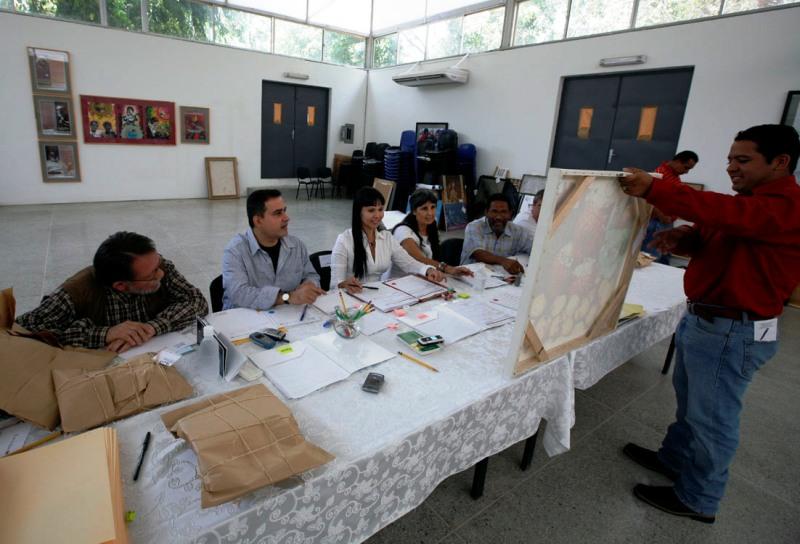 Selección de obras del Salón Nacional de Jóvenes Artistas del estado Anzoátegui