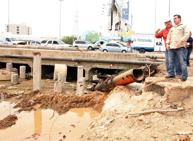 Tarek inspecciona trabajos del Distribuidor Plaza Mayor